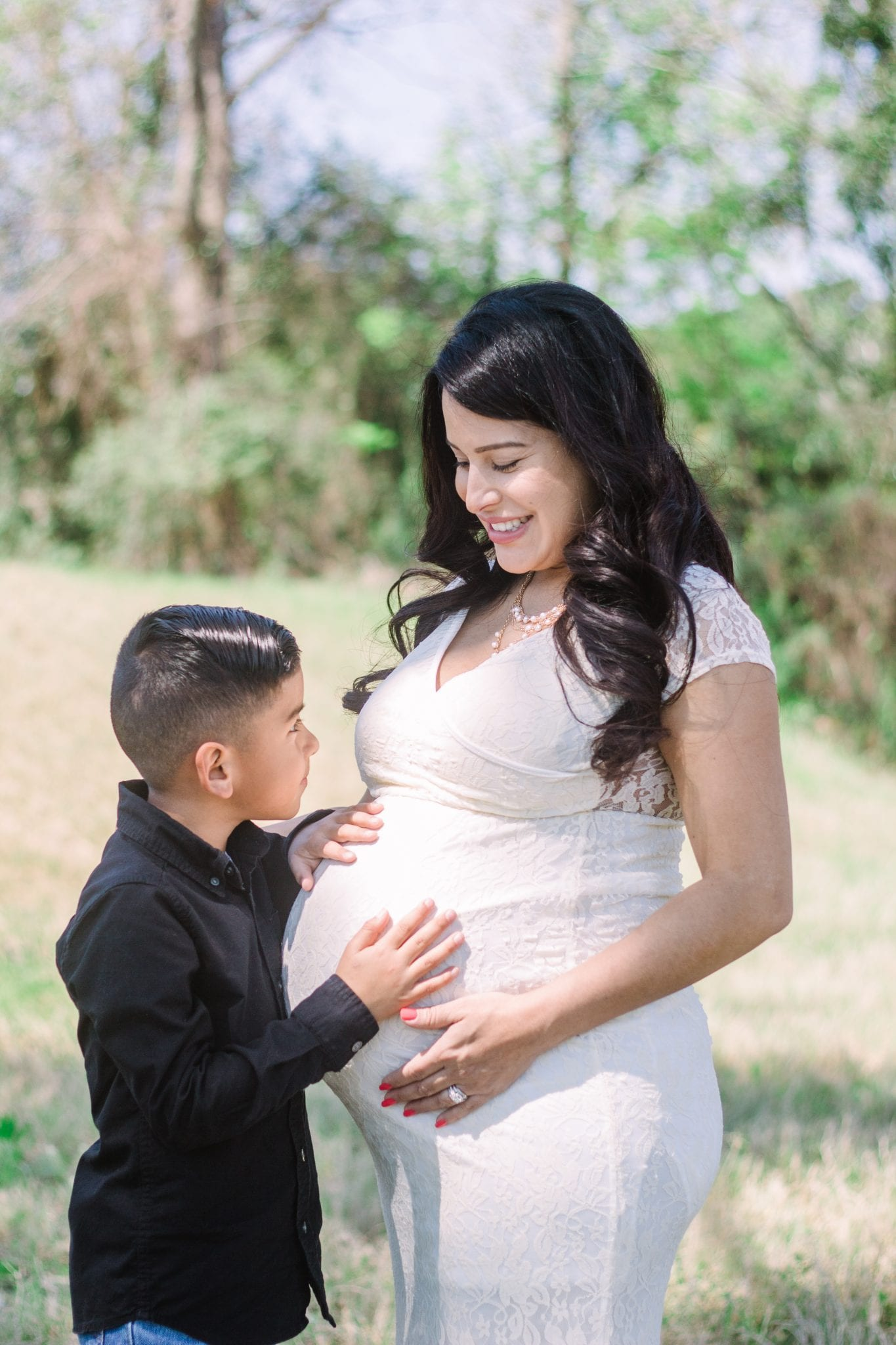 Sonia & Her Sweet Boy | Mother & Me in Houston, Tx